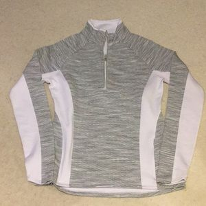 Athleta long sleeve 1/4 zip shirt